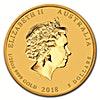 Australian Gold Lunar Series 2018 - Year of the Dog - 1/20 oz