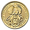 United Kingdom Gold Queen's Beast 2017 - Griffin - 1/4 oz