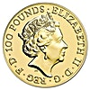 United Kingdom Gold Lunar Monkey 2016 - 1 oz