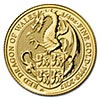 United Kingdom Gold Queen's Beast 2017 - Dragon - 1/4 oz