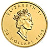 Canadian Gold Maple 1999 - 20 Years ANS Privy - 1 oz