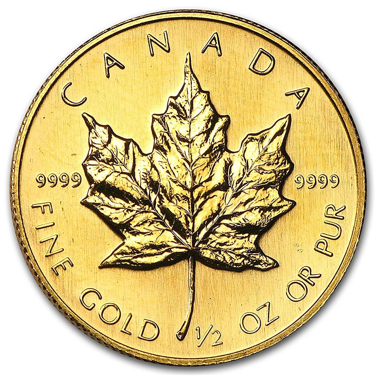 canadian maple leaf gold - HD1200×1200