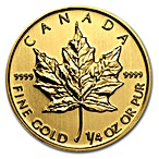 Canadian Gold Maple 2013 - 1/4 oz thumbnail