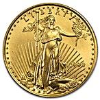 American Gold Eagle 1990 - 1/2 oz thumbnail