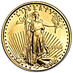 American Gold Eagle 1996 - 1/10 oz thumbnail