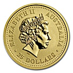 Australian Gold Lunar Series 2000 - Year of the Dragon - 1/4 oz thumbnail