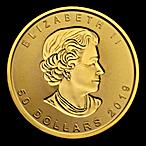 Canadian Gold Incuse Maple 2019 - 1 oz thumbnail