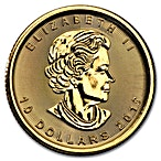 Canadian Gold Maple 2017 - 1/4 oz thumbnail