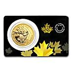 Canadian Gold Elk 2017 - 1 oz thumbnail