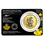 Canadian Gold Roaring Grizzly Bear 2016 - 1 oz thumbnail