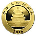Chinese Gold Panda 2016 - 3 g thumbnail