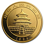 Chinese Gold Panda 1994 - 1 oz thumbnail