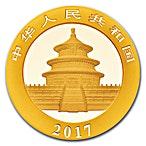Chinese Gold Panda 2017 - 1 g thumbnail