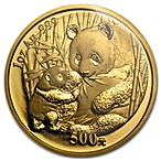 Chinese Gold Panda 2005 - 1 oz thumbnail