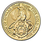 United Kingdom Gold Queen's Beast 2017 - Griffin - 1 oz thumbnail
