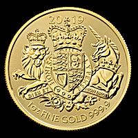United Kingdom Gold Royal Arms 2019 - 1 oz