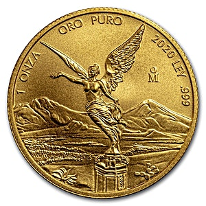 Mexican Gold Libertad 2020 - 1 oz