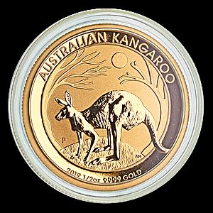 Australian Gold Kangaroo Nugget 2019 - 1/2 oz