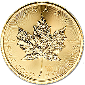 Canadian Gold Maple 2016 - 1 oz