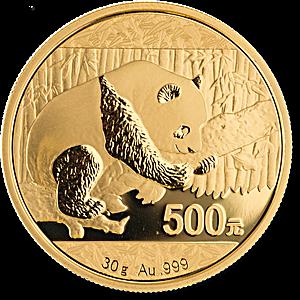Chinese Gold Panda 2016 - 30 g
