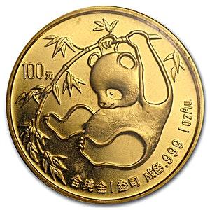 Chinese Gold Panda 1985 - 1 oz