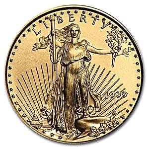 American Gold Eagle 1999 - 1/4 oz