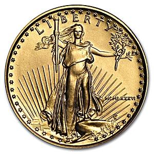 American Gold Eagle 1986 - 1/4 oz