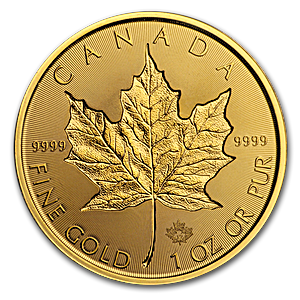 Canadian Gold Incuse Maple 2019 - 1 oz