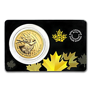 Canadian Gold Elk 2017 - 1 oz