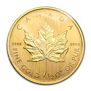 Canadian Gold Maple 2009 - 1/2 oz