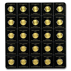 Canadian Gold Maplegram25 2021 - 25 x 1 g