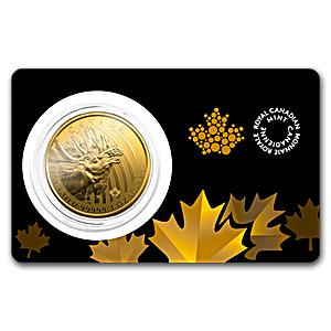 Canadian Gold Moose 2019 - 1 oz