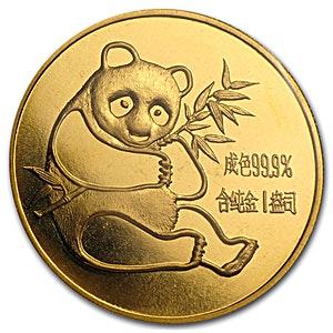 Chinese Gold Panda 1982 - 1 oz