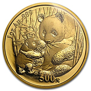 Chinese Gold Panda 2005 - 1 oz