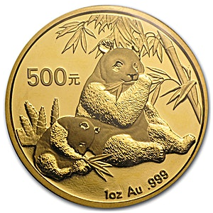 Chinese Gold Panda 2007 - 1 oz