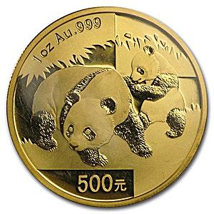 Chinese Gold Panda 2008 - 1 oz