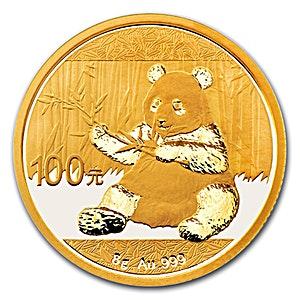 Chinese Gold Panda 2017 - 8 g