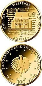 German Gold Unesco World Heritage - Abby Lorsch - Proof - 1/2 oz