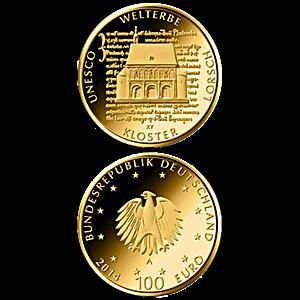 German Gold Unesco World Heritage - Abby Lorsch - Proof - 1/2 oz