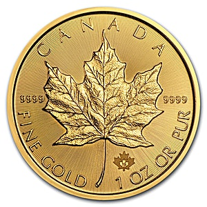Canadian Gold Maple 2019 - 1 oz