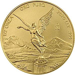 Mexican Gold Libertad 2020 - 1/2 oz