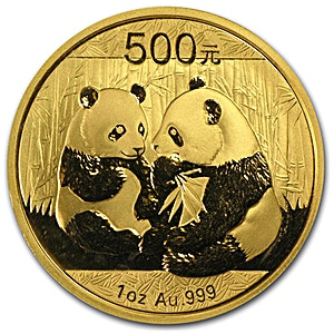 Chinese Gold Panda 2009 - 1 oz
