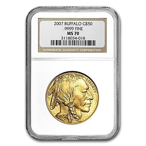 American Gold Buffalo 2007 - Graded MS 69 by NGC - 1 oz