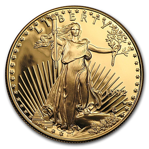 American Gold Eagle 1992 - Proof - 1 oz