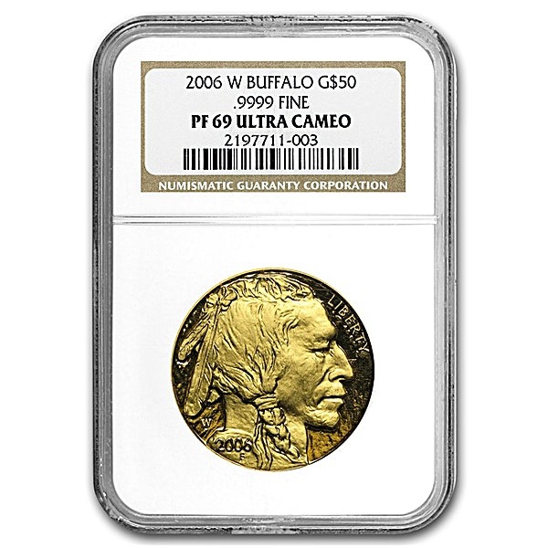 American Gold Buffalo 2006 - Graded PF 69 by NGC - 1 oz