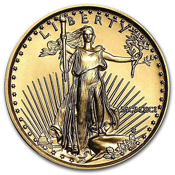 American Gold Eagle 1991 - 1/10 oz