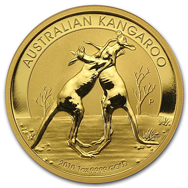 Australian Gold Kangaroo Nugget Various Years - 1 oz