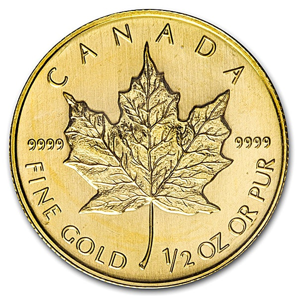 Canadian Gold Maple 2008 - 1/2 oz