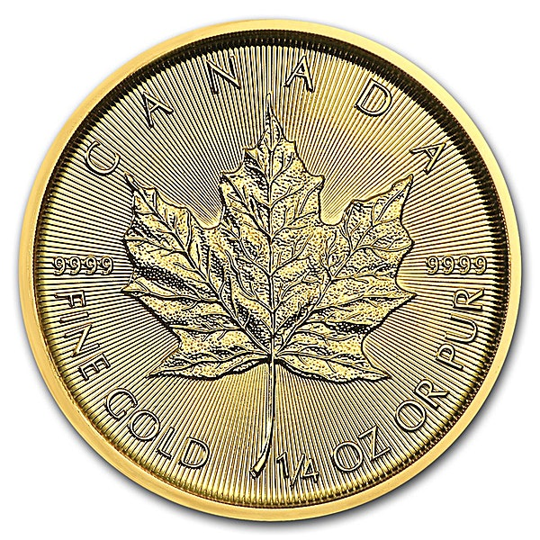 Canadian Gold Maple 2018 - 1/4 oz