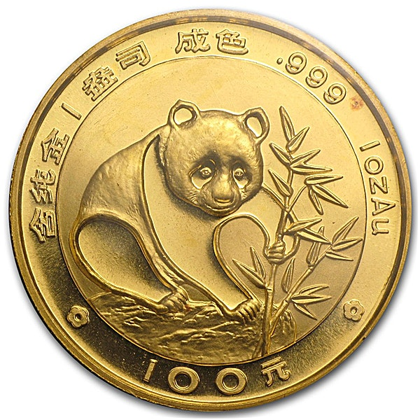 Chinese Gold Panda 1988 - 1 oz